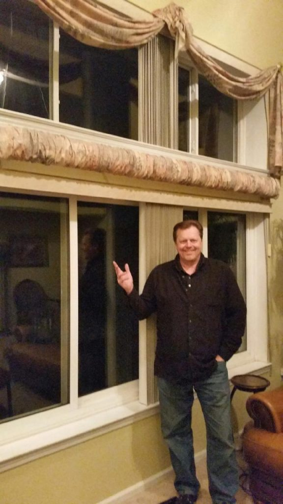 Bob with his WeatherGard Windows 2