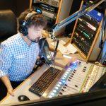 Chris Stevenson on the air