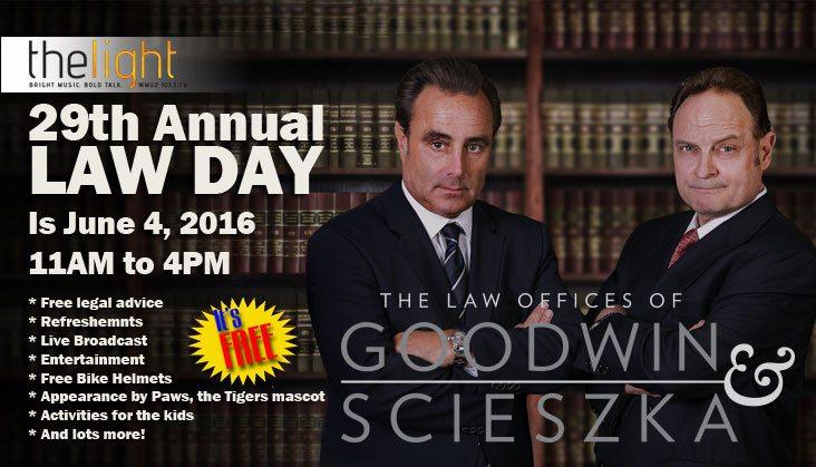 Goodwin & Scieszka LAW DAY